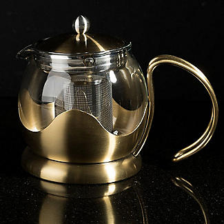 La Cafetière Edited 4-Cup Le Teapot Brushed Gold 1.2L alt image 2