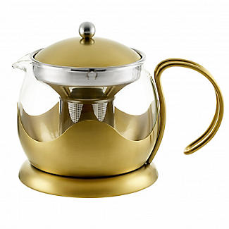 La Cafetière Edited 4-Cup Le Teapot Brushed Gold 1.2L alt image 4