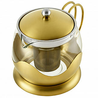 La Cafetière Edited 4-Cup Le Teapot Brushed Gold 1.2L alt image 5