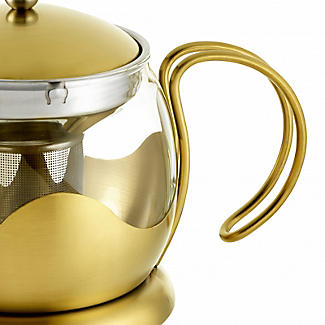 La Cafetière Edited 4-Cup Le Teapot Brushed Gold 1.2L alt image 6