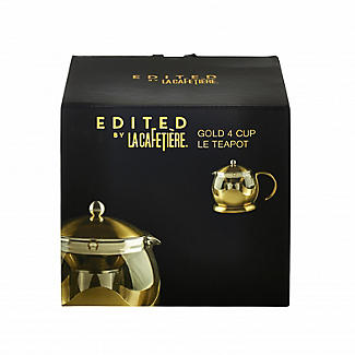 La Cafetière Edited 4-Cup Le Teapot Brushed Gold 1.2L alt image 7