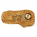 Naturally Med Etched Eat Well Olive Wood Chopping Board
