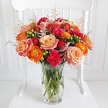 Peach Blush Bouquet With Free Express Delivery