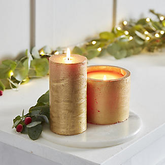 SPAAS Rustik Gold Lampion Candle alt image 2