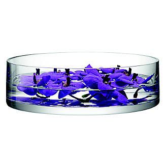 LSA International Bowl Candle Holder - Glass 35cm alt image 4