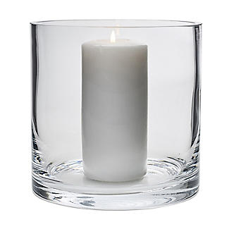 LSA International Column Vase Candle Holder - Glass 17cm alt image 1