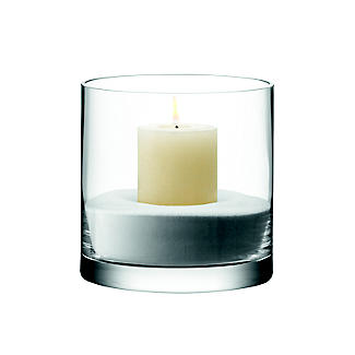 LSA International Column Vase Candle Holder - Glass 17cm alt image 4