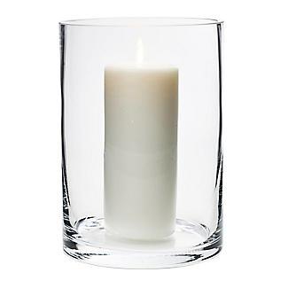 LSA International Column Vase Candle Holder - Glass 24cm