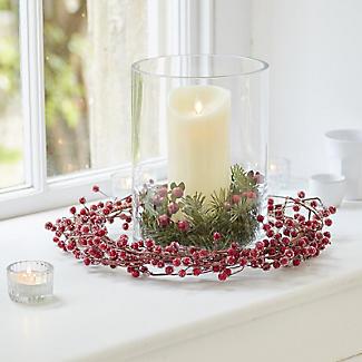 LSA International Column Vase Candle Holder - Glass 24cm alt image 2