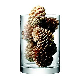 LSA International Column Vase Candle Holder - Glass 24cm alt image 4