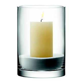 LSA International Column Vase Candle Holder - Glass 24cm alt image 6