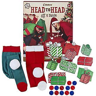 Paladone Head to Head Elf v Santa Christmas Game