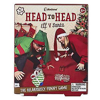 Paladone Head to Head Elf v Santa Christmas Game alt image 2
