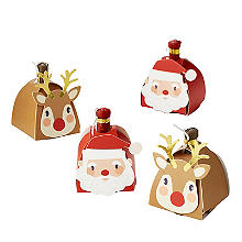 Rudolph and Santa Poppers
