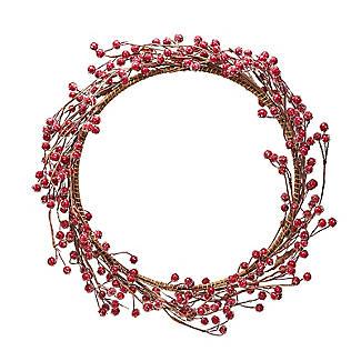 Lakeland Indoor Berry Wreath Christmas Decoration 38cm