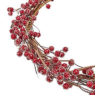 Lakeland Indoor Berry Wreath Christmas Decoration 38cm alt image 3