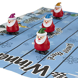Racing Santa Christmas Crackers - Pack of 6 alt image 6