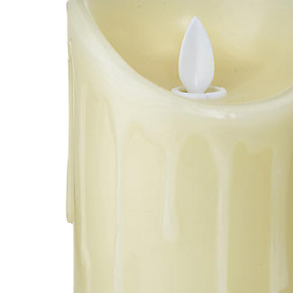 Dancing Flame LED Battery Powered Candle 18cm  alt image 4