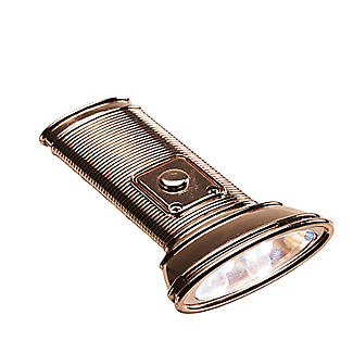 Kikkerland Copper Flat Light Torch