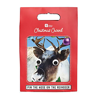 Talking Tables Pin the Nose on the Reindeer Christmas Game