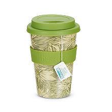 Huskup Reusable Eco Coffee Cup - Love in a Mist 400ml