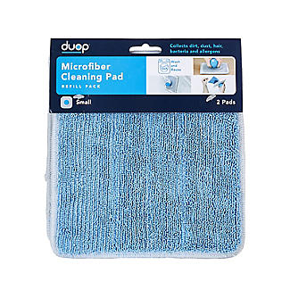 Duop Handheld Microfibre Cleaning Pad Refill – Pack of 2 alt image 3