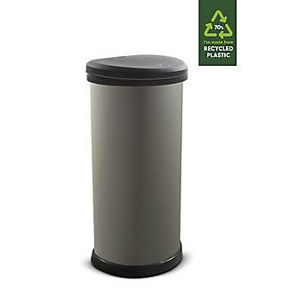 Curver Deco Touch Kitchen Waste Bin Matte Effect 40L alt image 2