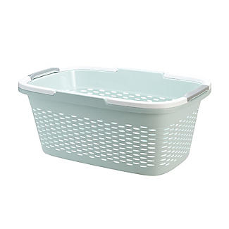 Large-Handled Lightweight Laundry Basket 29L alt image 11