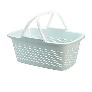 Large-Handled Lightweight Laundry Basket 29L alt image 1