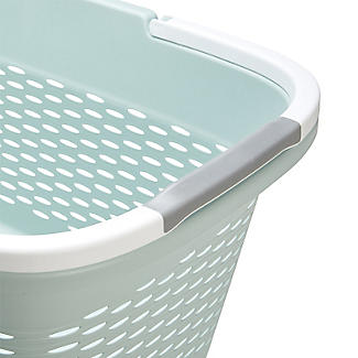 Large-Handled Lightweight Laundry Basket 29L alt image 6