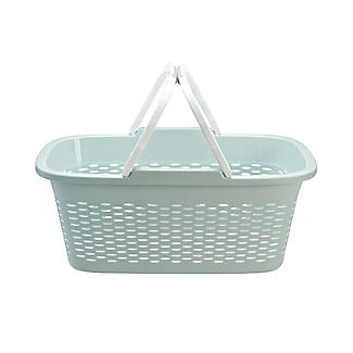 Large-Handled Lightweight Laundry Basket 29L alt image 8