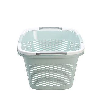 Large-Handled Lightweight Laundry Basket 29L alt image 9