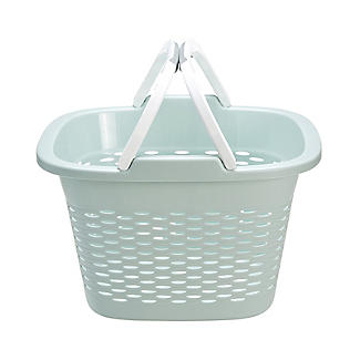 Large-Handled Lightweight Laundry Basket 17L alt image 7
