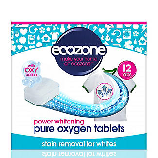 Ecozone Pure Oxygen Whitening Tablets 12 Pack