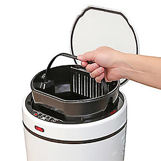 Touchless Vac-Can Motion Sensor Vacuum Kitchen Bin alt image 8