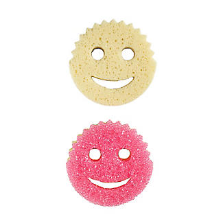 Scrub Mommy Sponges for Washing-Up and Cleaning – Pack of 2