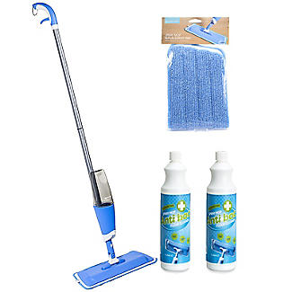 Lakeland Hard Floor Spray Mop Bundle