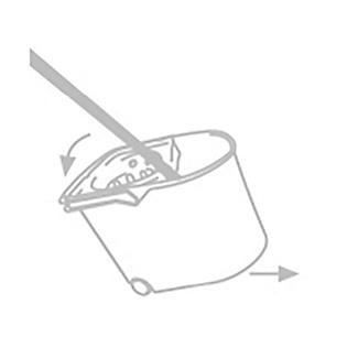 Tatay Wheelie Mop Bucket alt image 7