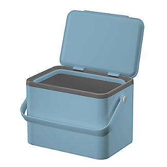 Eko Compost Caddy Titanium Blue 4L