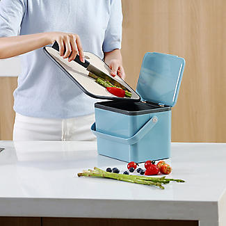 Eko Compost Caddy Titanium Blue 4L alt image 2