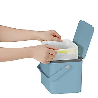 Eko Compost Caddy Titanium Blue 4L alt image 3