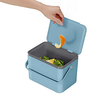 Eko Compost Caddy Titanium Blue 4L alt image 4