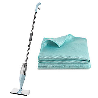 Lakeland Window 2 in 1 Spray Mop and Cloth Bundle
