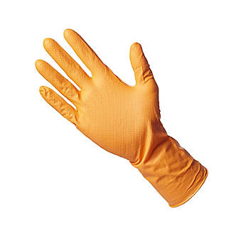 10 Grippaz Nitrile Multipurpose Gloves Medium