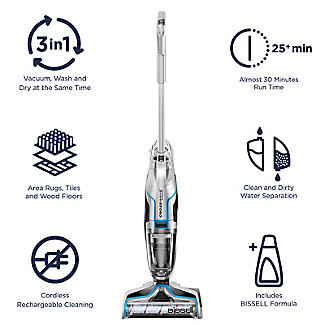 Bissell CrossWave 3-in-1 Multi-Surface Cordless Cleaning System 2582E alt image 12