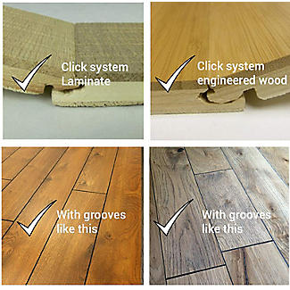 Stop Creak Friction Reducer for Click System Wood and Laminate Floors  alt image 4