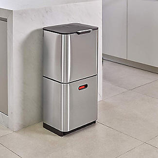 Joseph Joseph Totem Max Waste Recycling Unit - Stainless Steel 60L alt image 4