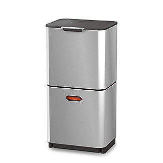 Joseph Joseph Totem Max Waste Recycling Unit - Stainless Steel 60L alt image 8