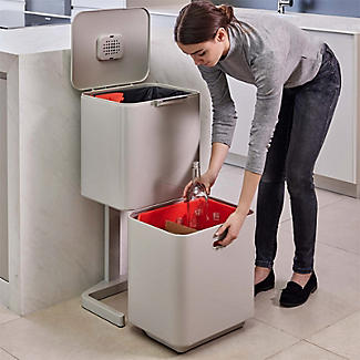 Joseph Joseph Totem Max Waste Recycling Unit - Stone 60L alt image 3