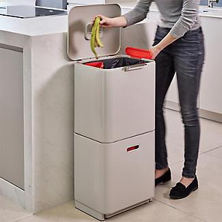 Joseph Joseph Totem Max Waste Recycling Unit - Stone 60L alt image 5
